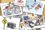 2017: The Year in Editorial Cartoons