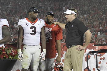 Georgia s Kirby Smart downplaying Nick Saban angle to title game ... d76227b17