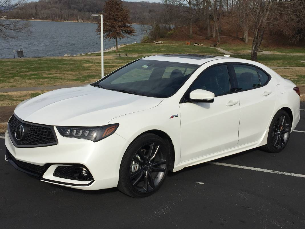 Test Drive Acura S Tlx Awd Is An All Weather Champ Chattanooga Times Free Press