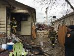 Electrical fire thwarted by firefighters