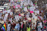 Thousands of demonstrators take part in Women's March in Chattanooga [photos, video]