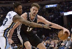 Gasol, Mills lead balanced Spurs attack over Grizzlies