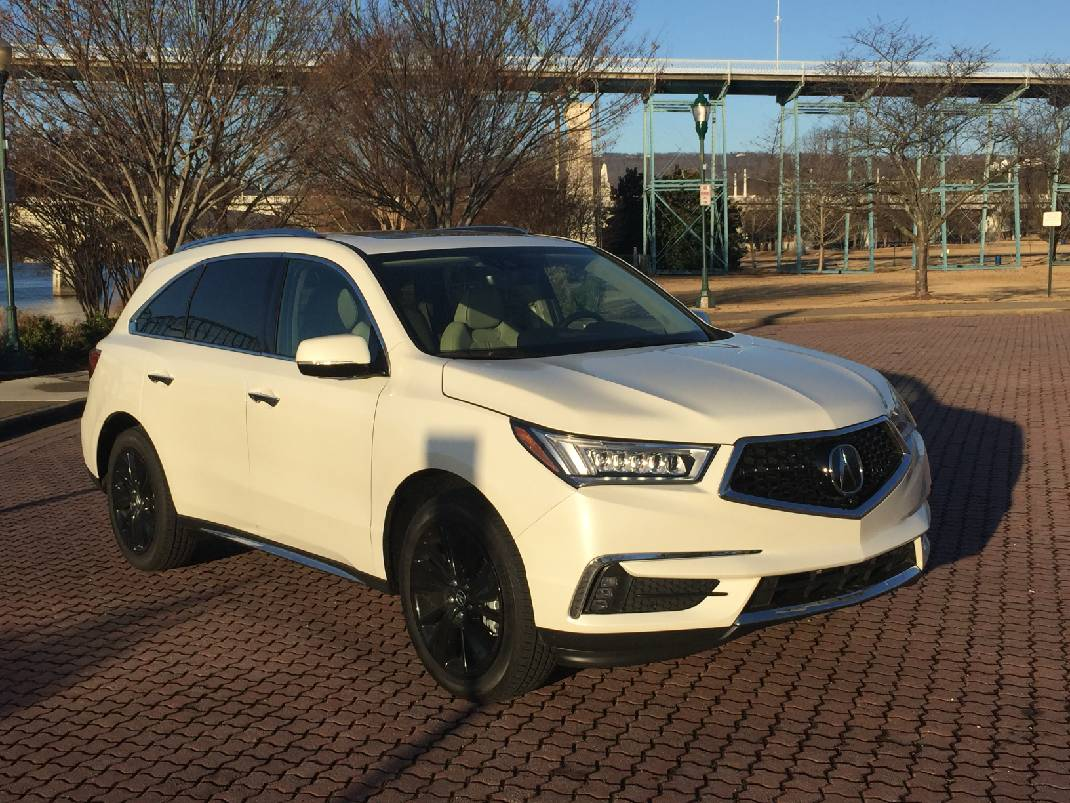 Test Drive Acura MDX Offers Threerow Utility Luxury Amenities - 2018 acura mdx remote start