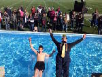 That's so cool! Take the Polar Plunge for Special Olympics