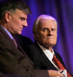 The Latest: Franklin Graham remembers dad, Rev. Billy Graham