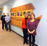 Ark lands in hallway at Kingsport church