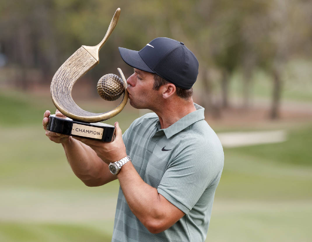paul casey wins as tiger woods shares second in valspar championship
