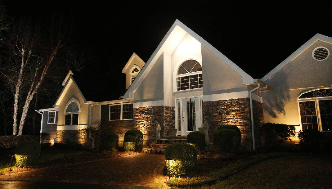 homeowners look to outdoor illumination for security safety curb