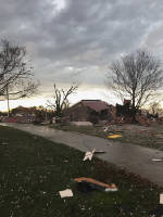 Severe storms spawn tornadoes, damage homes in Southeast U.S.
