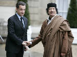 Ex-French president Sarkozy held on Gadhafi financing claims