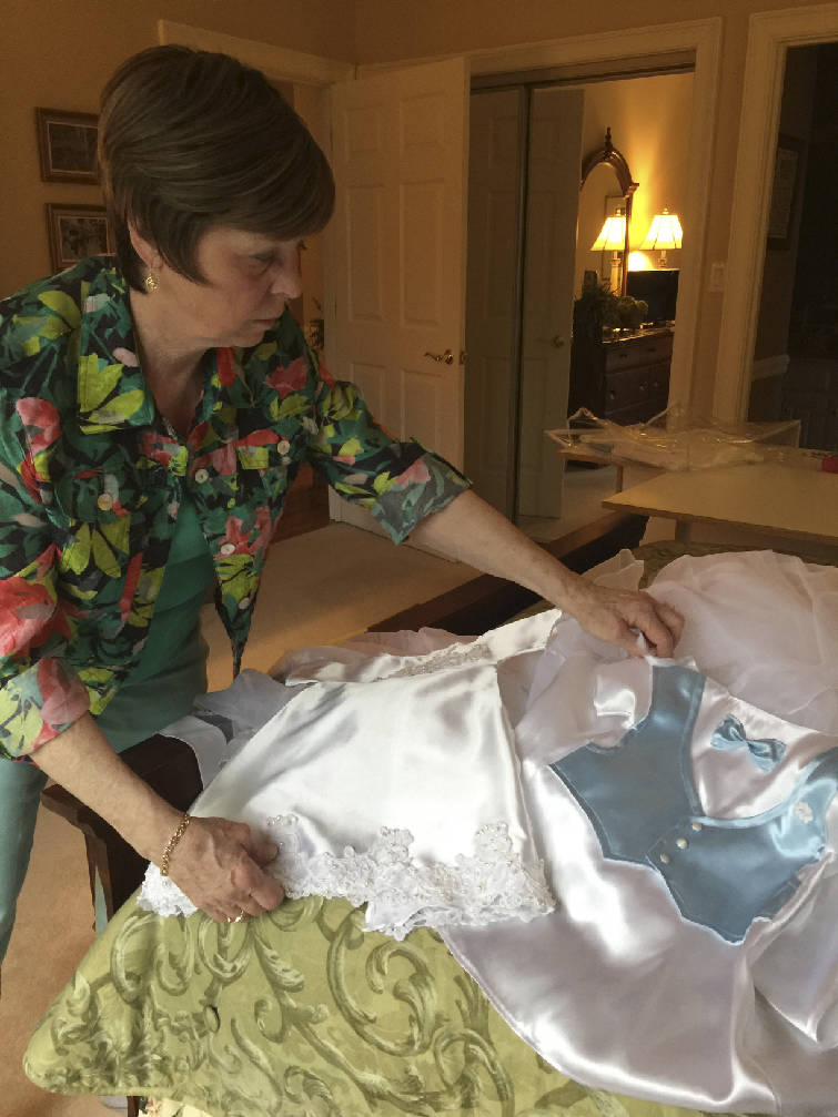 Kennedy: Signal Mountain woman turns old wedding dresses into burial ...