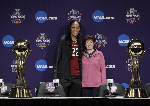 AP awards: Muffet McGraw coach, A'ja Wilson player of year