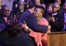Citing 'state emergency,' Bernice King calls for action on world crises