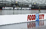 Kyle Larson leads at Bristol; race postponed to Monday