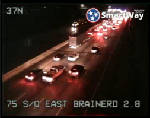 Crashes cleared that snarled traffic on I-75 north near East Brainerd Road exit