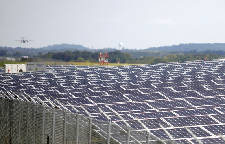 A 'beacon of green light': Chattanooga Airport marks completion of solar farm