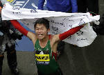 Japan's Yuki Kawauchi surges to win men's Boston Marathon