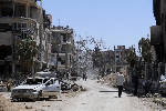 Syrian state media report new missile attack in Homs region