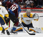 MacKinnon scores twice, Avalanche holds off Predators 5-3 in Game 3