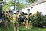 Family of six displaced by fire in Chattanooga