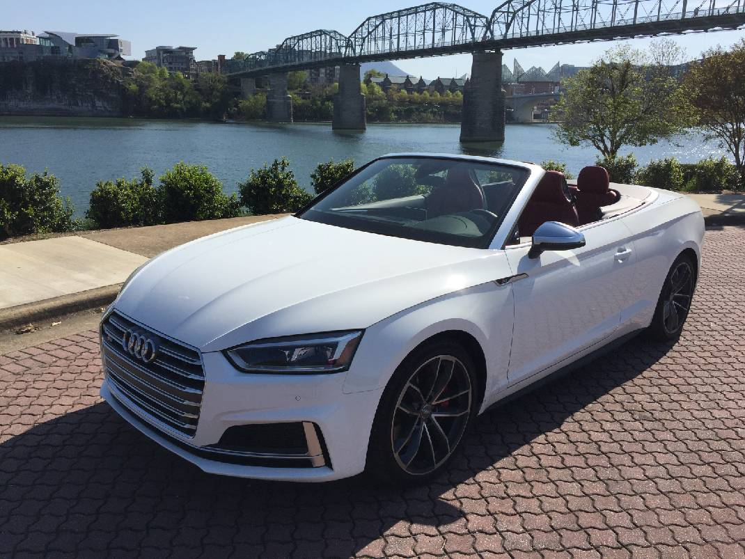 Test Drive Audi S Cabriolet Checks All The Boxes Times Free Press - All white audi