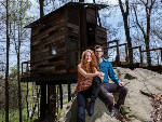 Luxury treehouses in Flintstone, Georgia, inspire guests to be kids again
