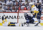 Forsberg, Rinne help Predators beat Jets to force Game 7