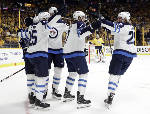 Vegas next in Western final after Jets stun Preds in Game 7