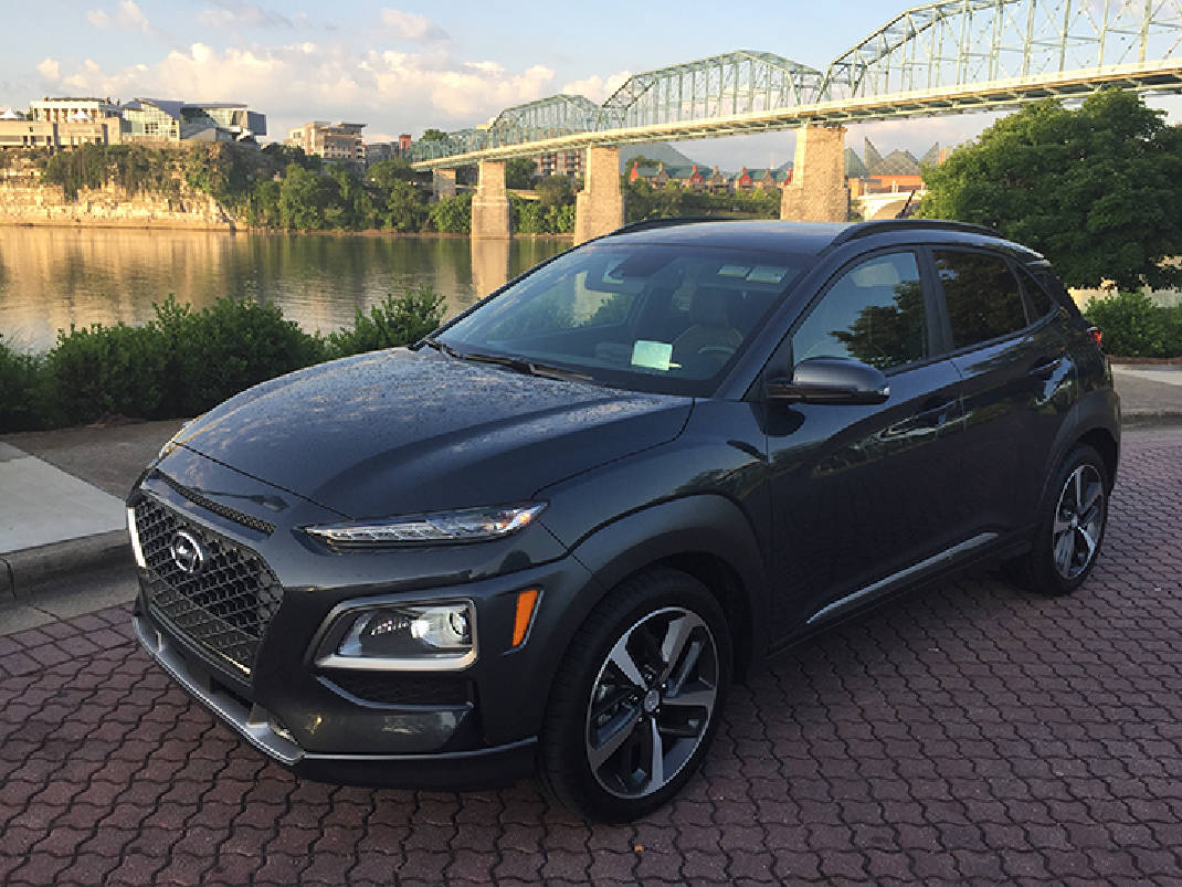 test drive hyundai kona designed with millennials in mind times free press. Black Bedroom Furniture Sets. Home Design Ideas