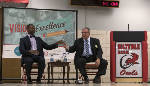 District 9 school board candidate debate gets personal; board members address controversial comments