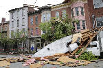 Cleanup underway a day after deadly storms pound Northeast