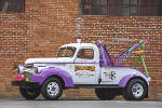 Grandson restores family tow truck to benefit Children's Hospital