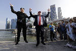 Kim Jong Un impersonator questioned on arrival in Singapore