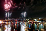 Digitized fireworks send Riverbend out with a bang