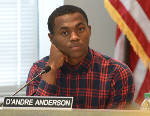 19-year-old D'Andre Anderson announces bid for school board seat