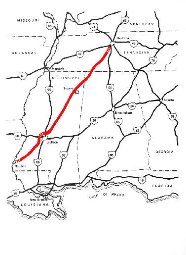 The Natchez Trace Offers Beautiful Relaxing Vacation Drive Times