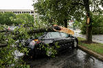 Storm causes damage throughout Chattanooga area
