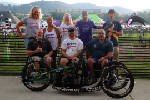 Crew of disabled athletes tackles triathlon this weekend