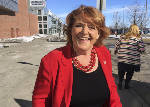 Trump brands Sen. Heitkamp 'liberal Democrat,' but she's not