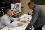 U.S. adds a solid 213,000 jobs; unemployment up to 4 percent