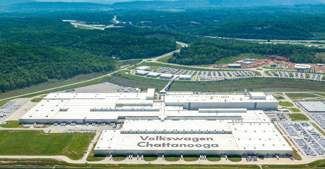 chattanooga   site    volkswagen electric vehicle plant times  press