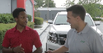 Bellhops worker rewarded with SUV after walking 14 miles to job [video]