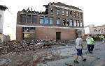Tornadoes sweep through Iowa; major damage and some injuries