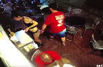 Georgia waitress throws man into a wall after he gropes her [video]