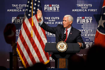 Vice President Mike Pence visits Chattanooga area [photos]