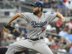 Kershaw does it all in Dodgers' 4-1 win over Braves