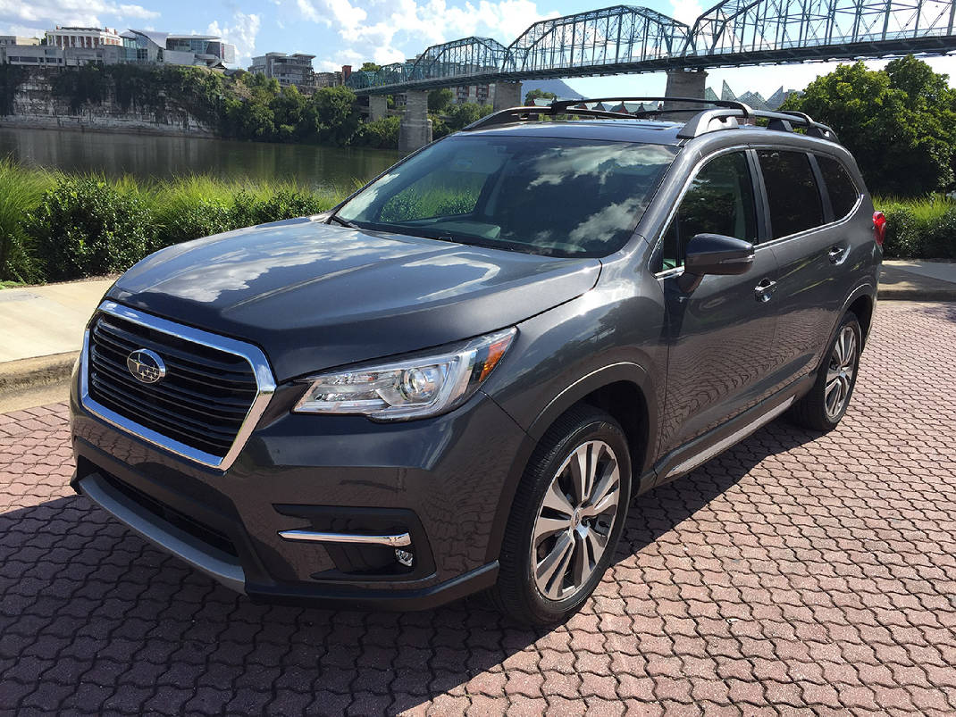 quick spin new subaru ascent enters 3 row suv wars times free press. Black Bedroom Furniture Sets. Home Design Ideas