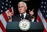 Vice President Mike  Pence outlines U.S. Space Force plan for 'next battlefield'