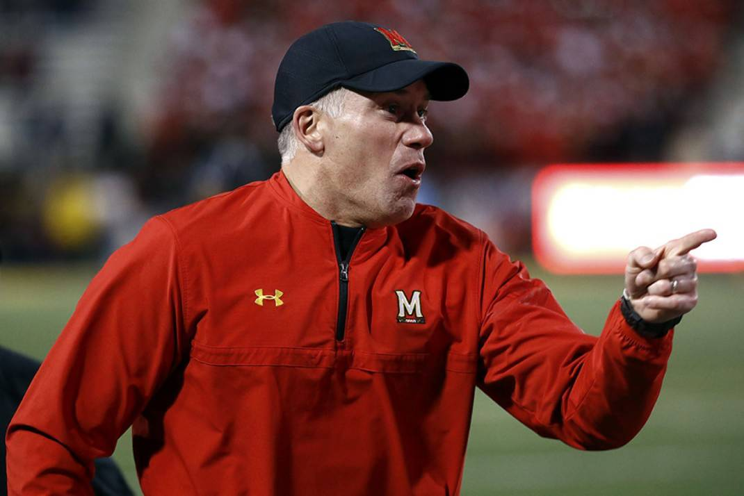 Image result for photos of university of maryland football D J DURKIN