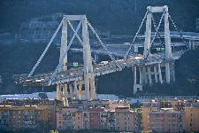 Italy bridge collapse kills at least 39, forces hundreds from homes
